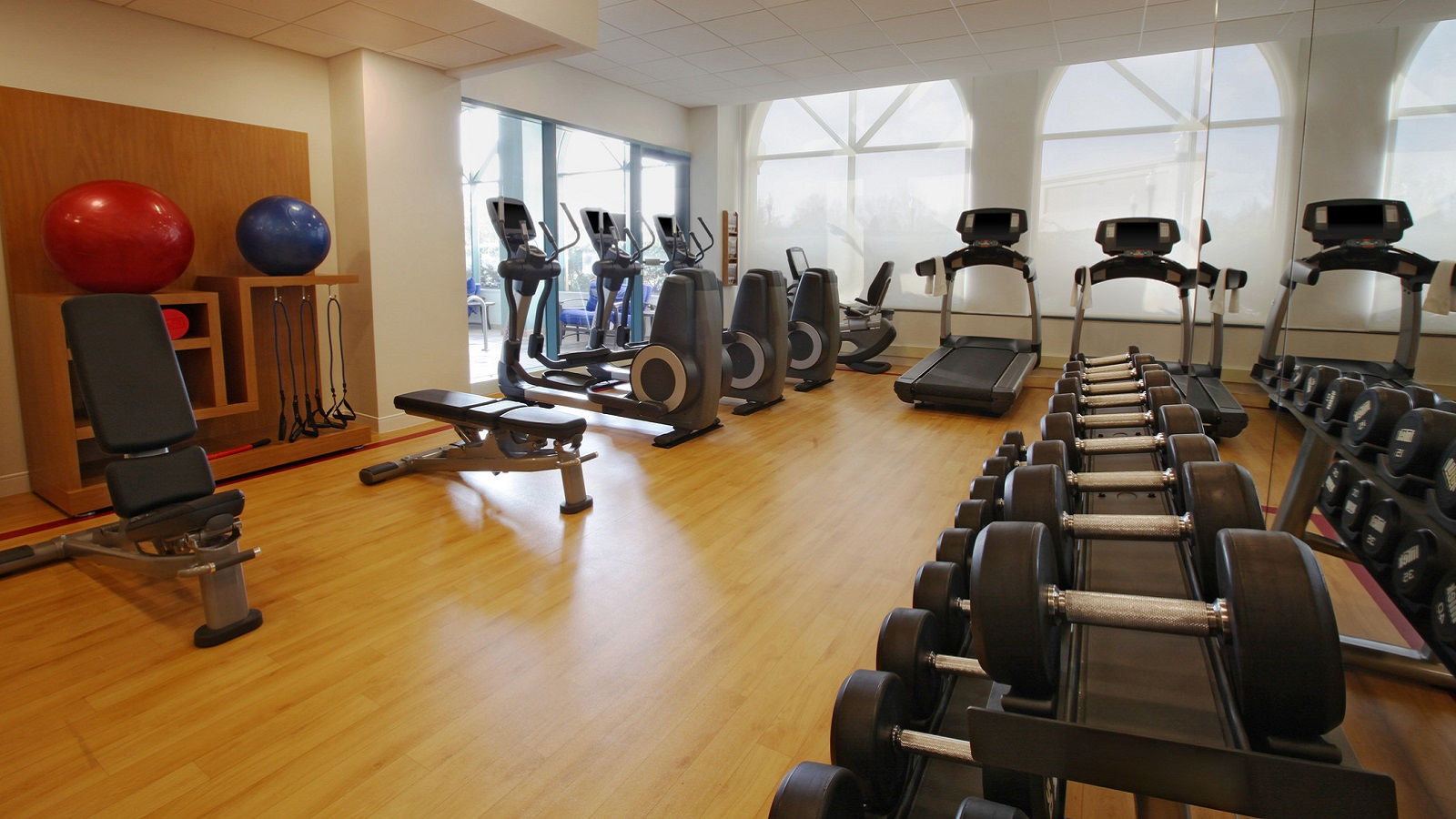 Hotel Features Fitness Center